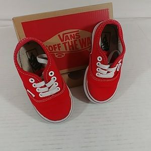 Red Vans Toddler